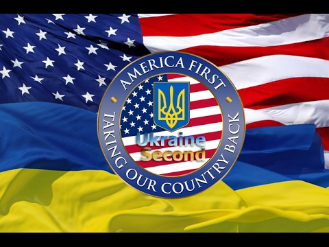 AMERICA FIRST, UKRAINE SECOND. Message for President