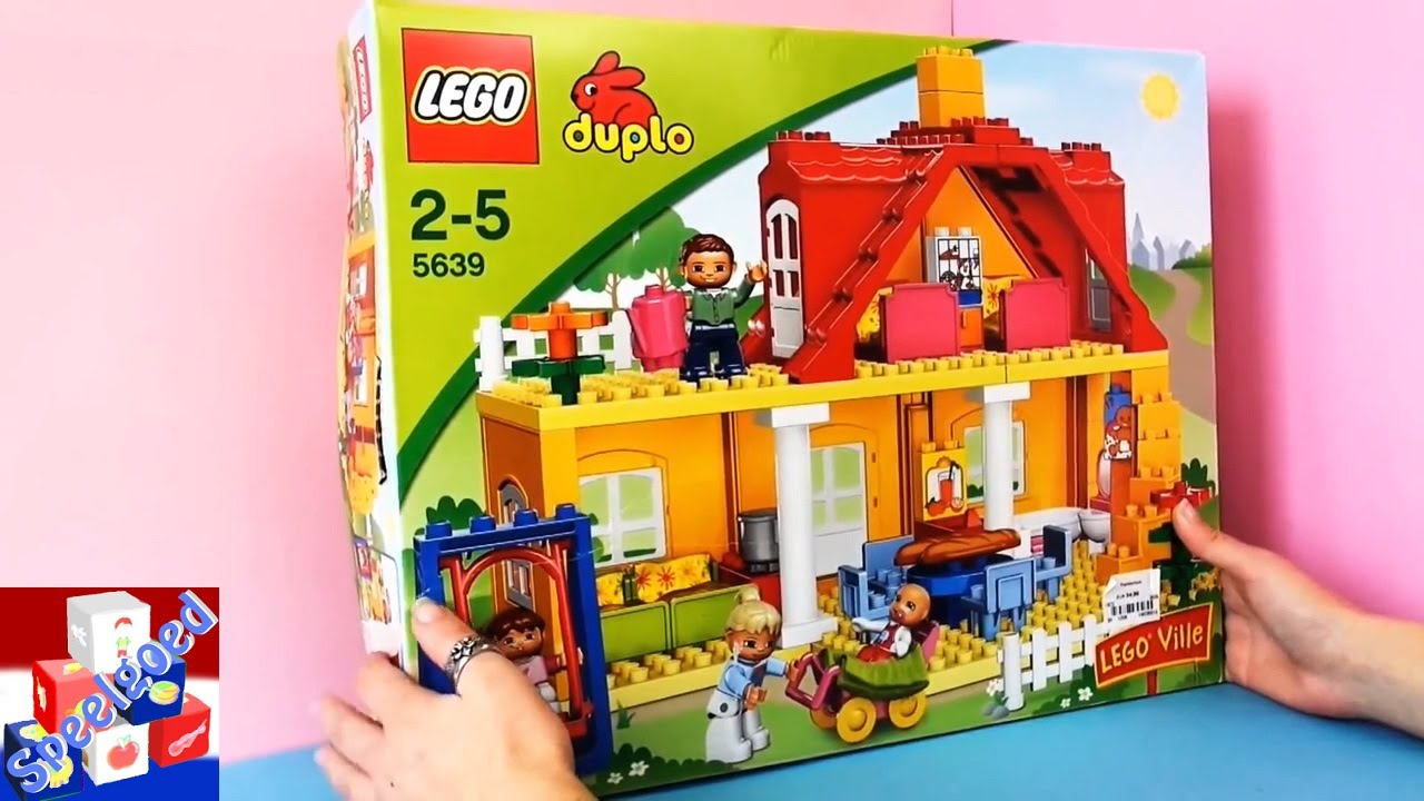 duplo ville familiehuis lego voorstelling youtube. Black Bedroom Furniture Sets. Home Design Ideas