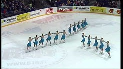 Marigold IceUnity luisteli toiseksi SM-muodostelmaluistelussa 6.3.2011
