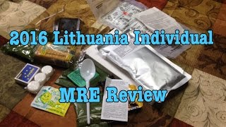 Lithuania MRE Review Ration Stewed Chicken With Rice Porridge