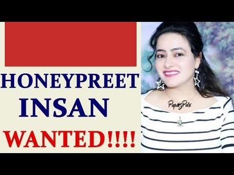 Honeypreet missing, police post wanted posters on Indo-Nepal Border | Oneindia News