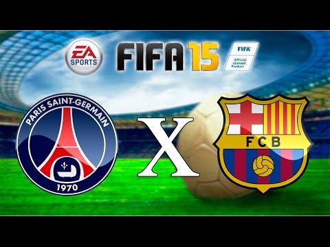 FIFA 15 - PSG x Barcelona