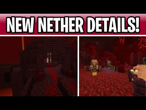 Minecraft 1.16 New Nether Update Details! Special Beds, Release Date & Nether Fortress?