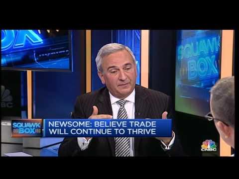 CNBC's Squawk Box Asia:  Newsome on future of trade