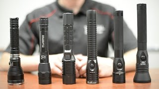 Police Duty Flashlight Comparison - Stinger vs. LE-1+ vs. Lawman vs. Nightstick vs. 7060