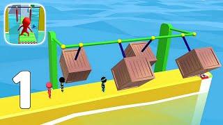 Sea Race 3D - Fun Sports Game Run 3D - Gameplay Walkthrough Part 1 (iOS, Android) screenshot 3