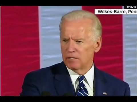 "ONCE AGAIN CREEPY JOE BIDEN THREATENS TO ""BEAT THE HELL OUT OF TRUMP""!"