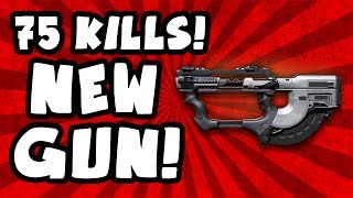 75 Kill Gameplay! - New SMG The Ripper PS4 COD Ghosts New Gun DLC