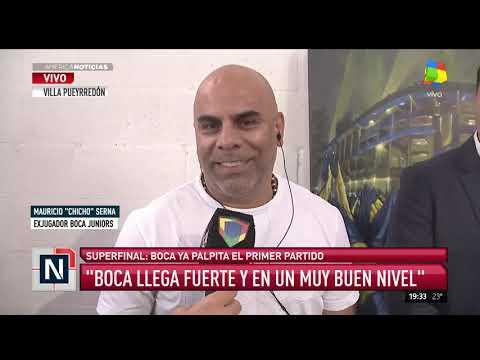 Chicho Serna: Boca llega en un muy buen nivel