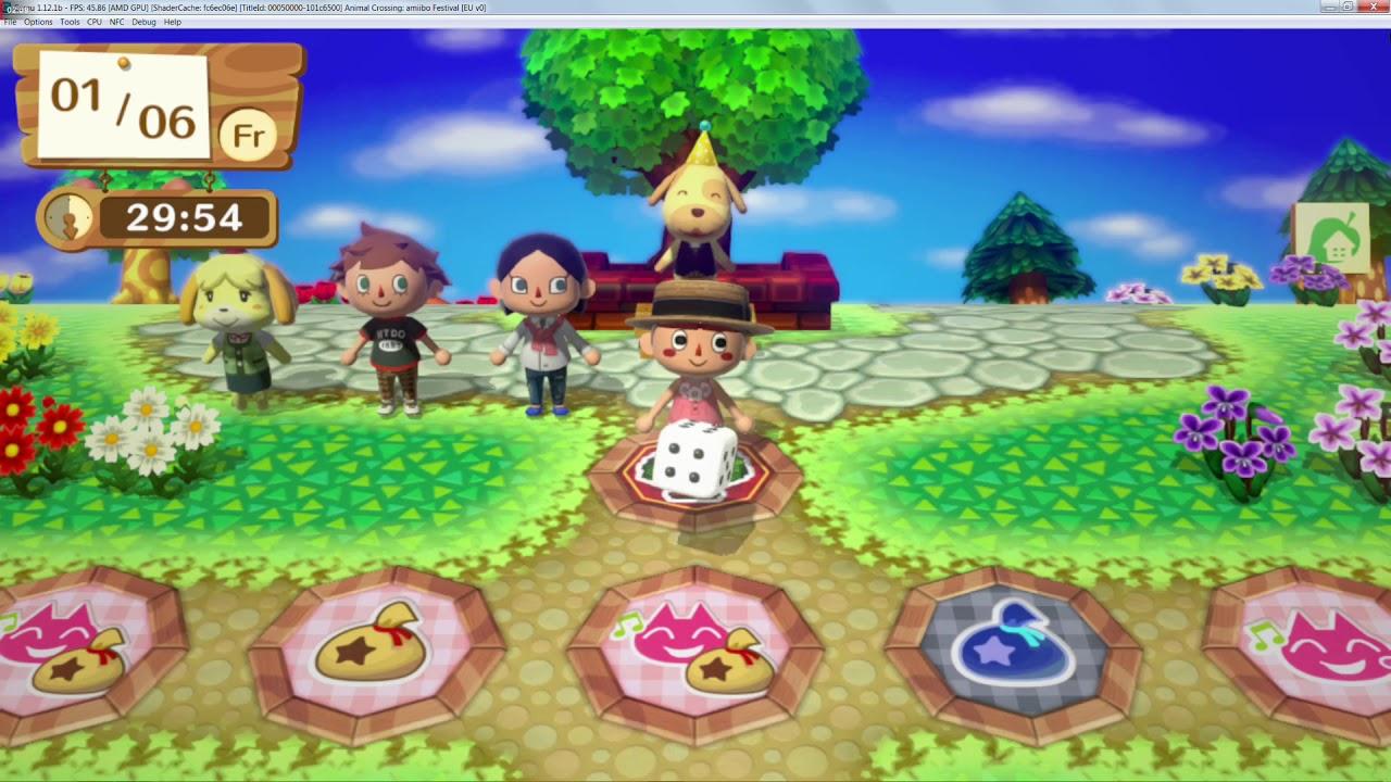 Cemu 1 12 1 | Animal Crossing: Amiibo Festival - AMD Edition