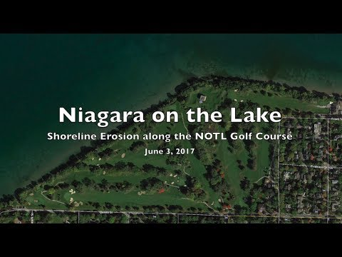 Niagara on the Lake Shoreline Erosion 2017