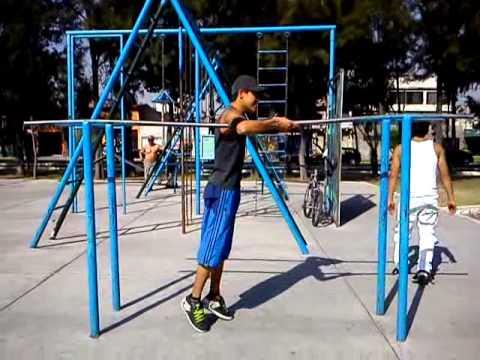 ejercicios de barras callejeras