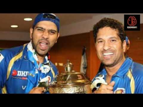 Rohit Sharma : Sachin Gives TEST & ODI CAP To Rohit.