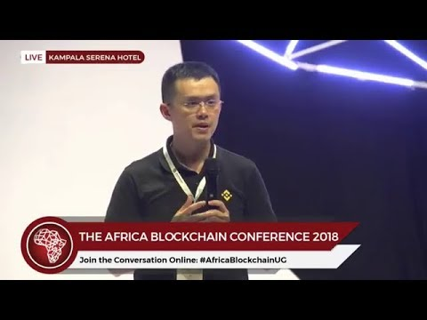 Binance CEO-CZ explains Cryptocurrency in Kampala, Uganda at Africa Blockchain Conference