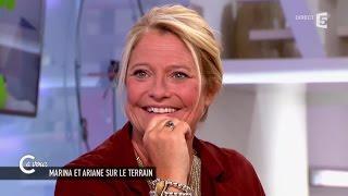 Marina Carrère d'Encausse vue par le coach Nordine Attab - C à vous - 16/06/2015
