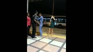 Singapore spitting incident