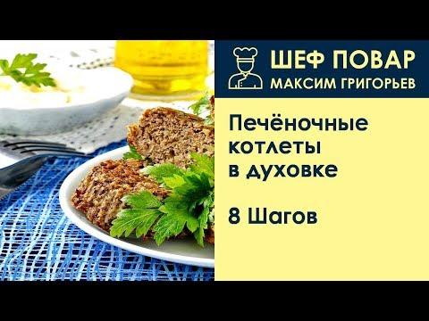 Печёночные котлеты в духовке . Рецепт от шеф повара Максима Григорьева