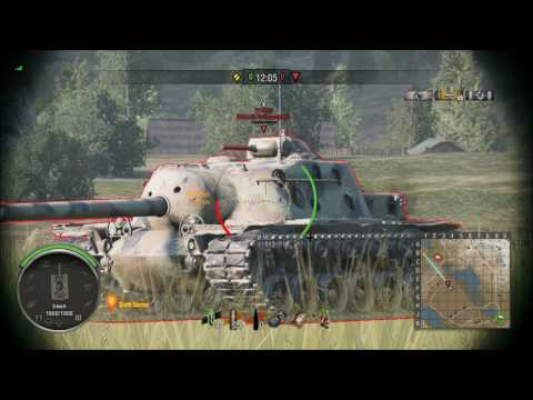 Bull's T110E3 Weak Spot Guide (World Of Tanks Console)