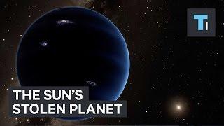 The sun's stolen planet