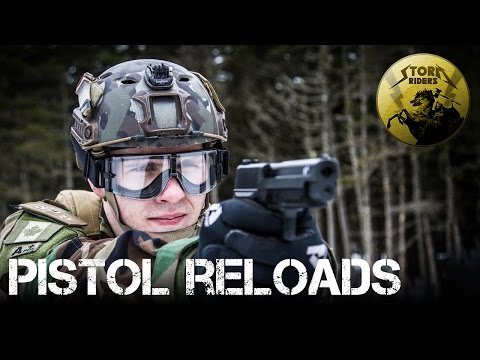 How to perform pistol reloads in airsoft