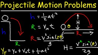 How To Solve Projectile Motion Problems In Physics