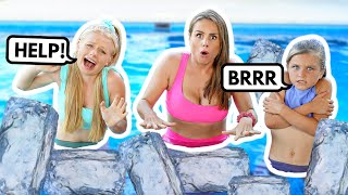 LAST TO LEAVE ICE COLD POOL **WINS PRIZE** | Family Fizz