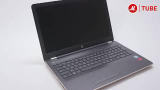 Распаковка ноутбука HP 15-bs508ur 2FQ63EA