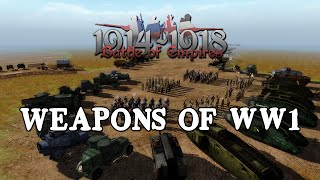 Battle of Empires: 1914-1918 - Weapons of WW1