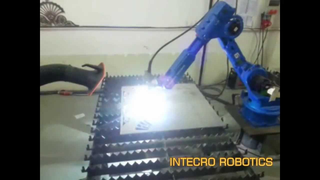 Cad/Cam Based 3D Robot Plasma Cutting ( Yaskawa - Motoman Robot)