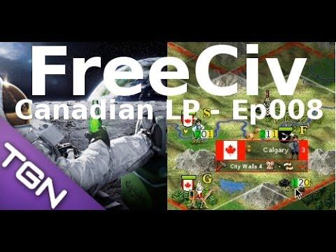 FreeCiv 2.4.0 [SDL Client] Canadian LP - Ep008