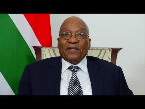 President Jacob Zuma announces Cabinet re-shuffle