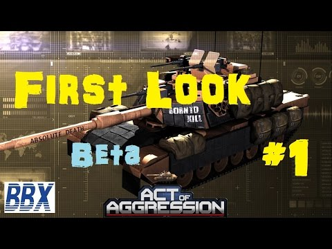 Act of Aggression Gameplay - First Look