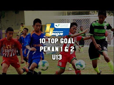 Top 10 Goal Indonesia Junior Mayapada League pekan ke 1 & 2 [U13] 2018
