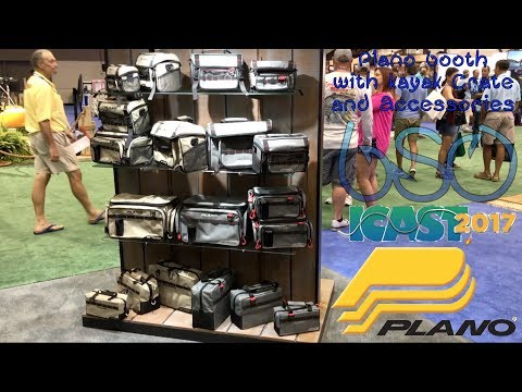 Plano Booth: New Kayak Crate and Accessories iCast 2017