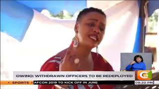 Waititu, Ichungwa, Wahome's security withdrawn