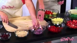 Jezlan's Strawberry Salad Recipe Every Way Woman Talk Show