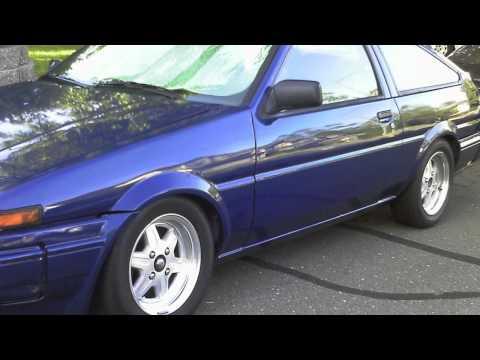 Toyota Hachi Roku (AE86) Hatchback & Coupe