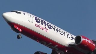 air berlin boeing 737 86j d abme oneworld overhead approach