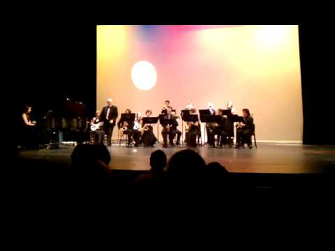 Summit High School Jazz Band for Friends of Music Fundraiser Performance in Bend ORegon