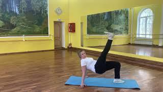 Тренировка для женщин В здоровом теле здоровый дух