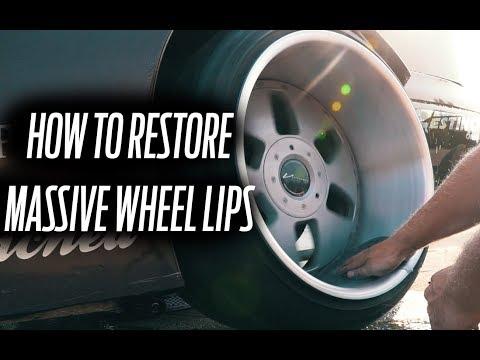 HOW TO RESTORE 3 PIECE WHEEL LIPS (POLISHING HOTBOI WHEELS)
