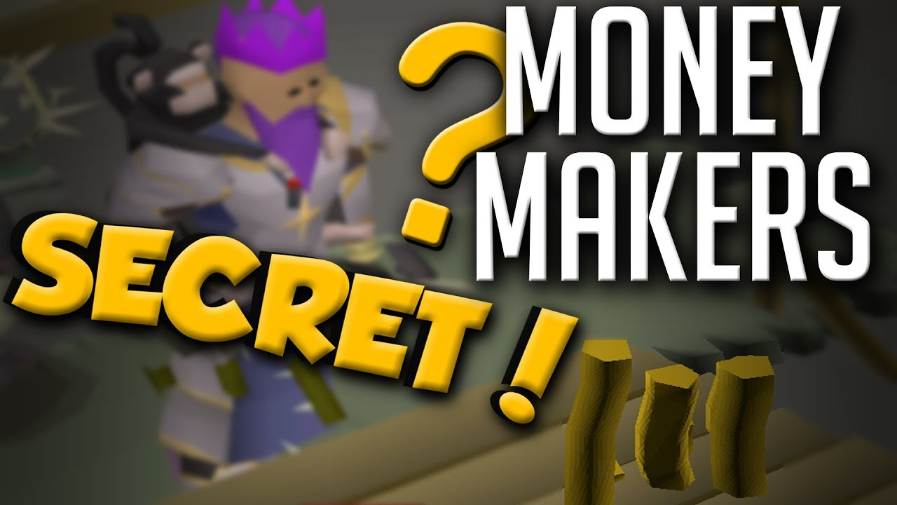 15 Best SECRET & Underrated Money Makers In OSRS