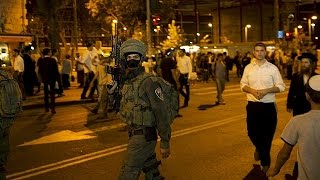 Israeli troops and Palestinian protesters clash in Bethlehem