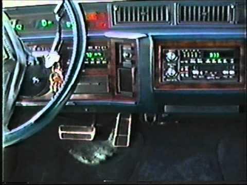 Camera Video of my 1986 Cadillac Fleetwood - April, 1991!