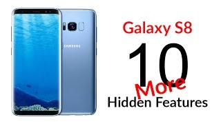 10 MORE Hidden Features of the Galaxy S8 You Don't Know About - YouTube Tech Guy
