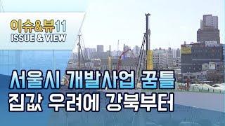 꿈틀대는 서울시 대형 개발사업 집값 오를까 강북 먼저 …