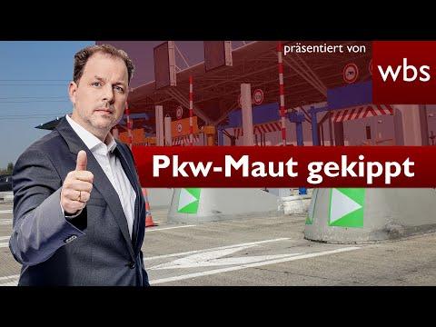 Pkw-Maut in Deutschland kommt doch nicht | Rechtsanwalt Christian Solmecke