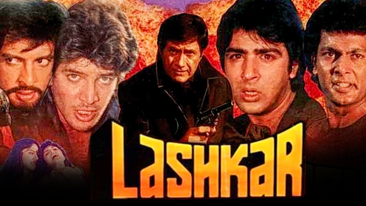 Lashkar (1989) Bollywood Hindi Full Movie   Dev Anand, Aditya Pancholi, Sonam, Hemant Birje, Madhavi