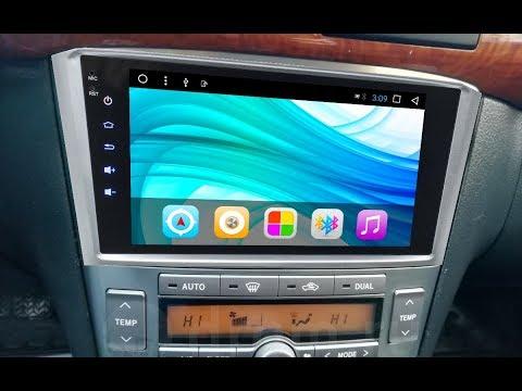 Штатная магнитола Toyota Avensis (2003-2009) Android CF-3198