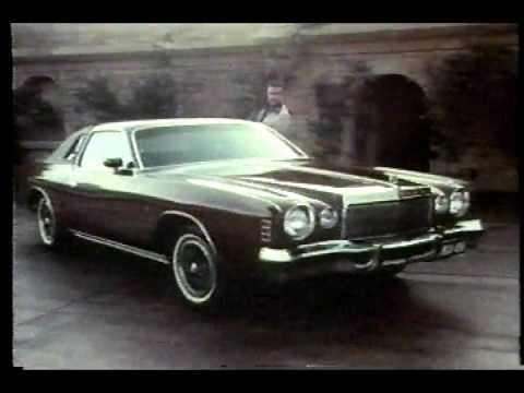 Famous Chrysler Cordoba Commercial with Ricardo Montalban!!